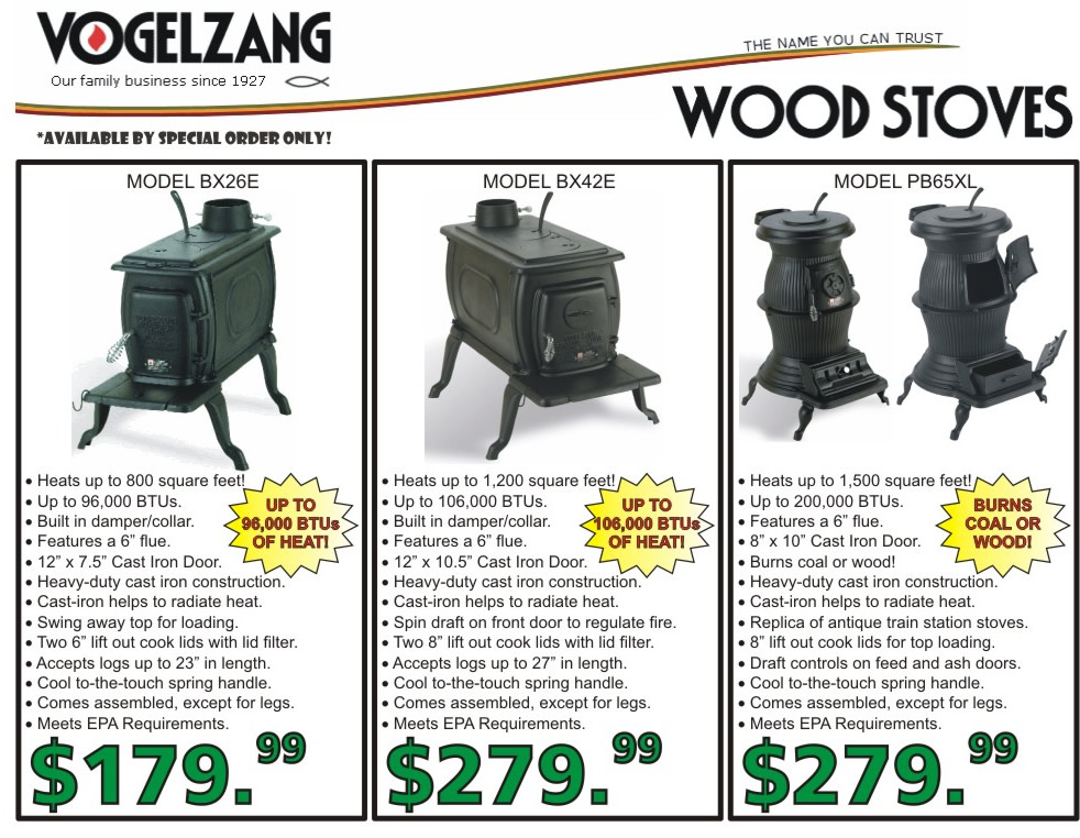 Vogelzang Wood Stoves WB Designs - Vogelzang Wood Stoves WB Designs